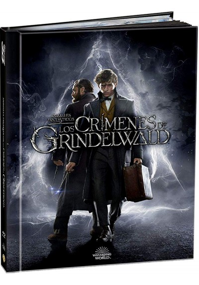 Animales Fantásticos: Los Crímenes De Grindelwald (Blu-Ray 3d + 2d + Pelicula Digital) (Ed. Libro)