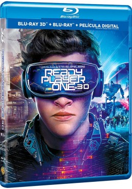 Ready Player One (Blu-Ray 3d + Blu-Ray