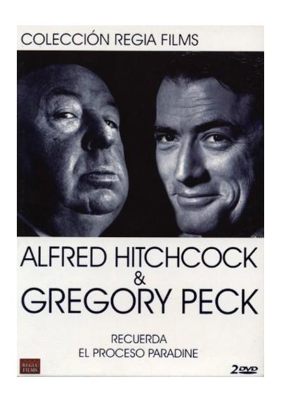 Alfred Hitchcock & Gregory Peck - Colección Regia Films