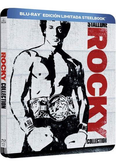 Rocky Collection (Blu-Ray) (Ed. Metálica)