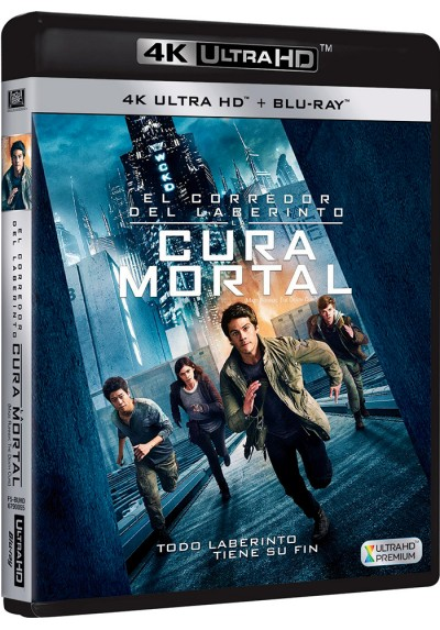 El Corredor Del Laberinto : La Cura Mortal (Blu-Ray 4k Ultra Hd + Blu-Ray) (Maze Runner: The Death Cure)