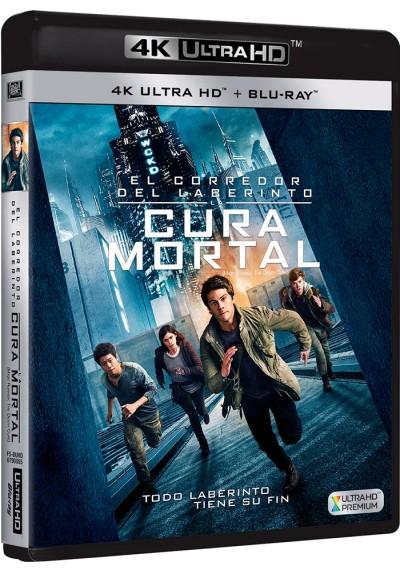 El Corredor Del Laberinto : La Cura Mortal (Blu-Ray 4k Ultra Hd + Blu-Ray) (Maze Runner: The Death Cure)