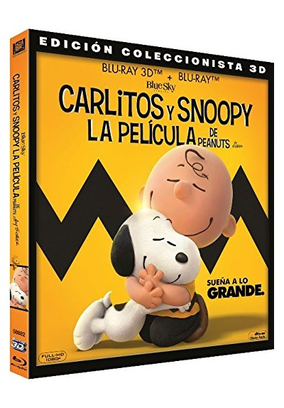Carlitos Y Snoopy: La Película De Peanuts (Blu-Ray 3d + Blu-Ray) (Snoopy And Charlie Brown: The Peanuts Movie)