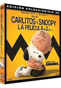 Carlitos Y Snoopy: La Película De Peanuts (Blu-Ray 3d + Blu-Ray) (Snoopy And Charlie Brown: The Peanuts Movie)