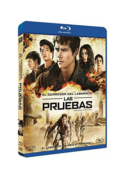 El Corredor Del Laberinto: Las Pruebas (Blu-Ray) (Maze Runner: The Scorch Trials)