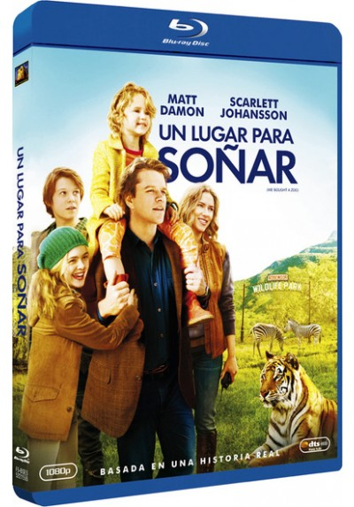 Un Lugar Para Soñar (Blu-Ray) (We Bought A Zoo)