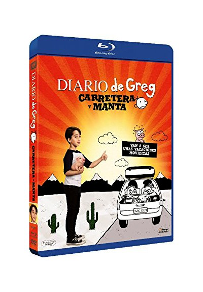 Diario De Greg: Carretera Y Manta (Blu-Ray) (Diary Of A Wimpy Kid: The Long Haul)