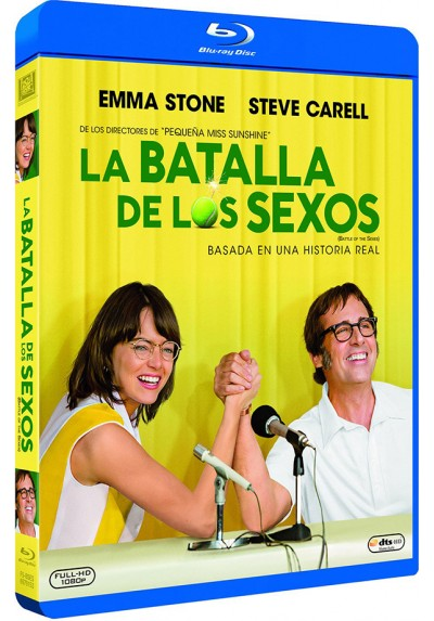 La Batalla De Los Sexos (2017) (Blu-Ray) (Battle Of The Sexes)