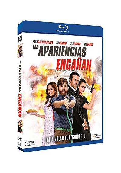 Las Apariencias Engañan (Blu-Ray) (Keeping Up With The Joneses)