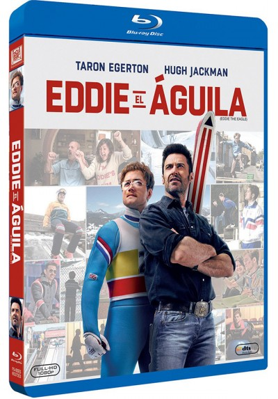 Eddie El Aguila (Blu-Ray) (Eddie The Eagle)