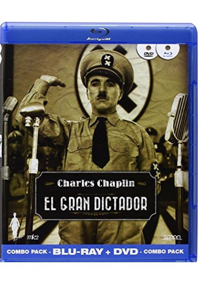 El Gran Dictador (Blu-Ray + Dvd) (The Great Dictator)