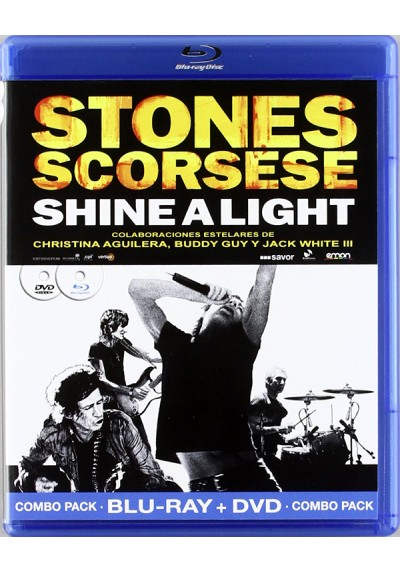 Shine A Light (V.O.S.) (Blu-Ray + Dvd)