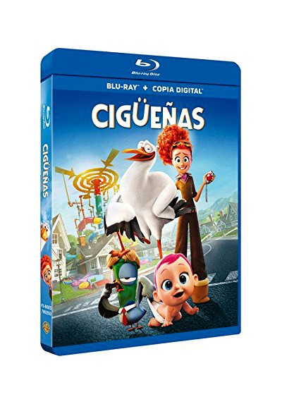Cigüeñas (Blu-Ray + Copia Digital) (Storks)