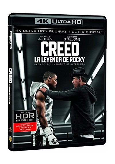 Creed: La Leyenda De Rocky (Blu-Ray 4k Ultra Hd + Blu-Ray + Copia Digital)