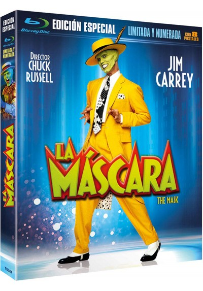 La Máscara (Blu-Ray + Postales) (Edición Limitada) (The Mask)