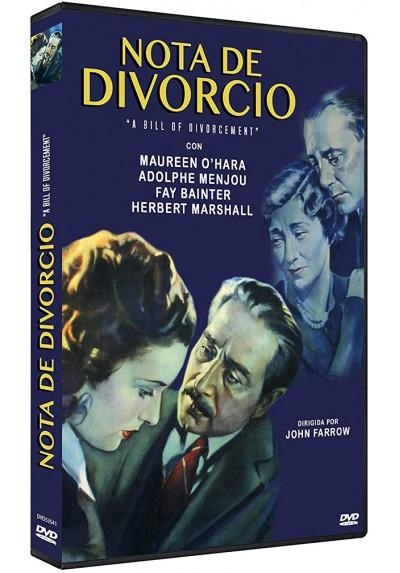 Nota de Divorcio (A Bill of Divorcement)