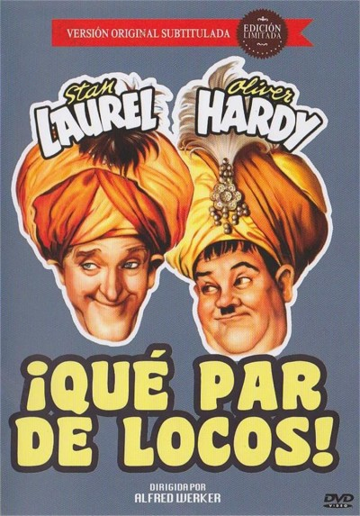 Que Par De Locos! (V.O.S.) (A-Haunting We Will Go) (Dvd-R)