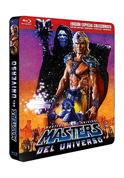 Masters del Universo (Blu-ray) (Ed. Metalica) (Masters of the Universe)