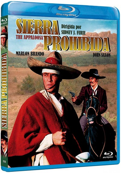 Sierra Prohibida (Blu-Ray) (Bd-R) (The Appaloosa)