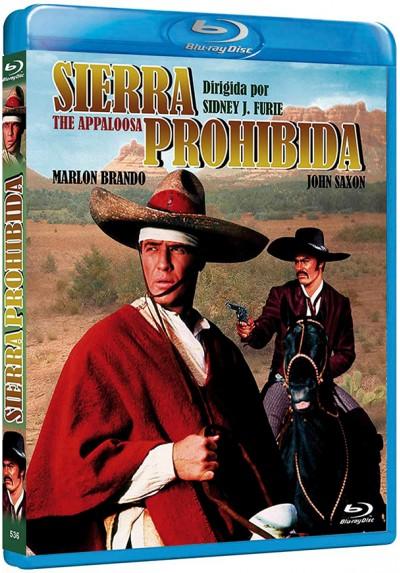 Sierra Prohibida (Blu-Ray) (Bd-R) (The Appaloosa)