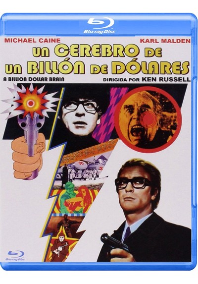 Un Cerebro De Un Billón De Dólares (Blu-Ray) (Bd-R) (Billion Dollar Brain)