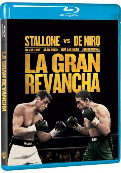 La Gran Revancha (2013) (Blu-Ray) (Grudge Match)