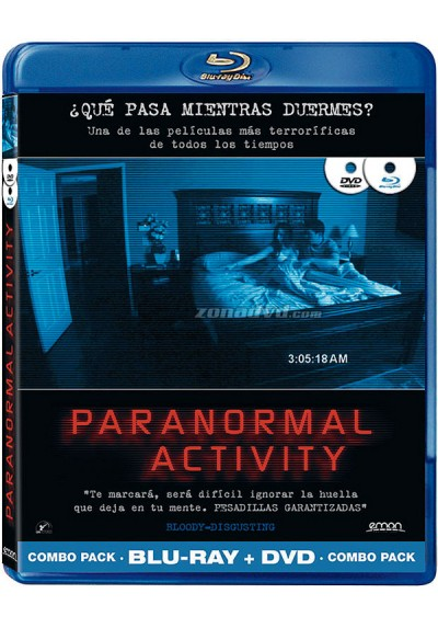 Paranormal Activity (Blu-Ray + Dvd)