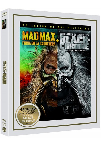 Mad Max : Furia En La Carretera + Black & Chrome (Ed. Especial) (Blu-Ray)  (Mad Max: Fury Road)