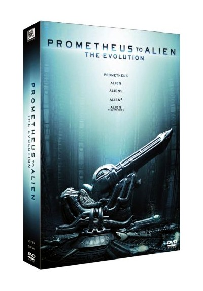 Pack Prometheus To Alien - The Evolution