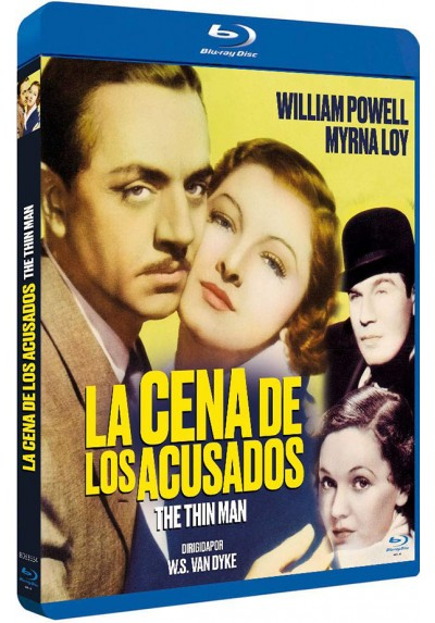 La Cena De Los Acusados (Blu-ray) (Bd-R) (The Thin Man)