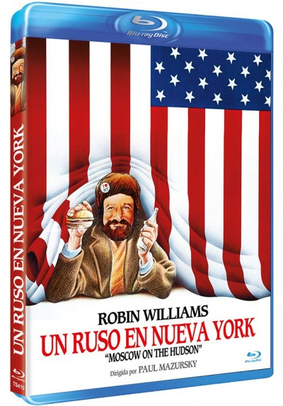 Un Ruso en Nueva York (Blu-ray) (Moscow on the Hudson)