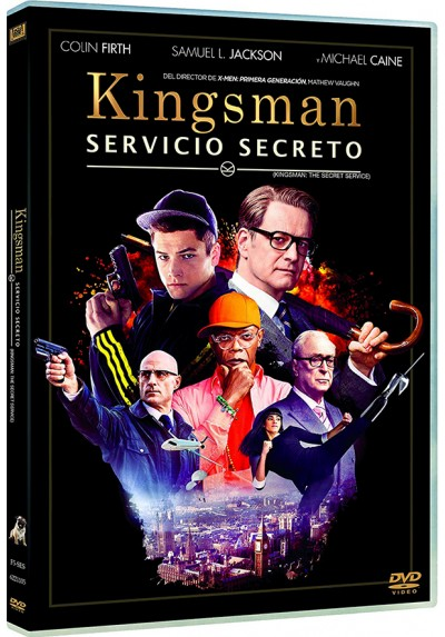 Kingsman : Servicio Secreto (Kingsman: The Secret Service) (Estuche Slim)