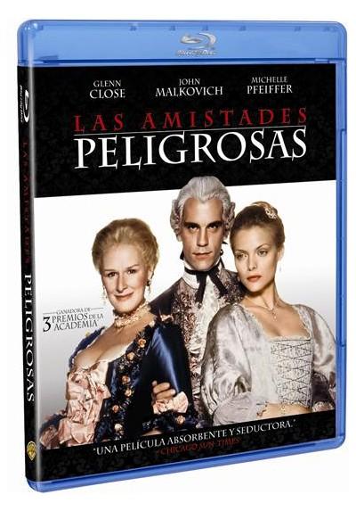 Las amistades peligrosas (Blu-ray) (Dangerous Liaisons)