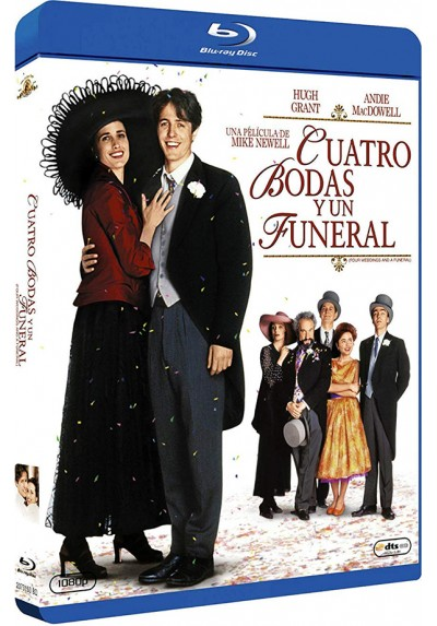 Cuatro bodas y un funeral (Blu-ray) (Four Weddings and a Funeral)