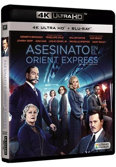 Asesinato En El Orient Express  (Murder On The Orient Express) (4K + Blu-Ray)
