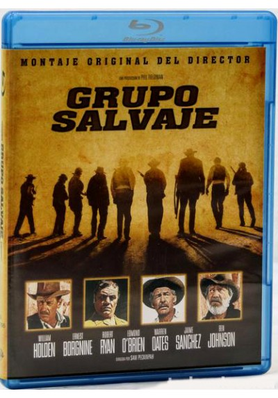 Grupo salvaje (Blu-ray) (The Wild Bunch)