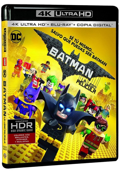 Batman: La Lego Película (Blu-Ray) (4K- UHD) (The Lego Batman Movie)