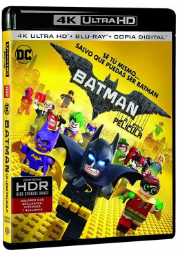 Batman: La Lego Película (Blu-Ray) (4K- UHD) (The Lego Batman Movie)
