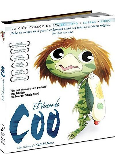 El Verano De Coo (Blu-Ray + Dvd + Extras + Libro)