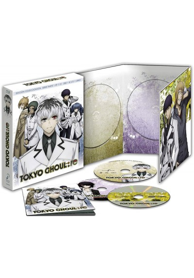 Tokyo Ghoul: Re Ep 1-12 Parte 1 (Blu-Ray)
