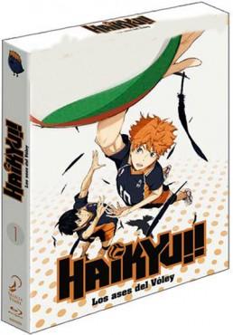 Haikyu!! Los ases del voley - Temporada 1 Completa - Episodios 1 a 25 (Blu-ray)