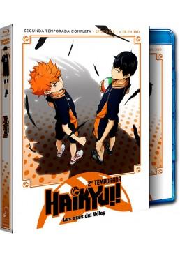 Haikyu!! Los ases del voley - Temporada 2 Completa - Episodios 1 a 25 (Blu-ray)