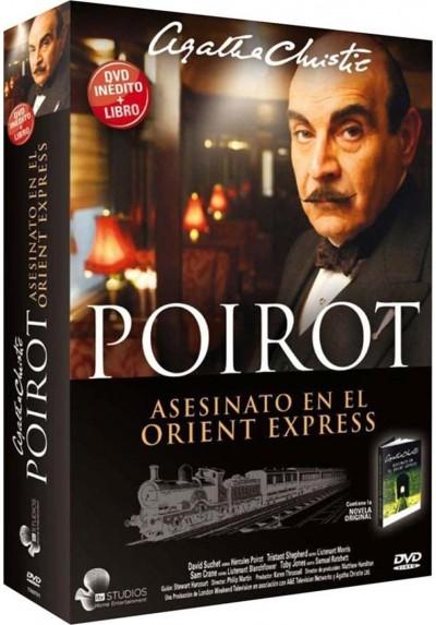 Poirot, Asesinato en el Orient Express + Libro - Agatha Christie