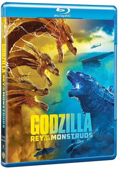 Godzilla: Rey de los monstruos (Blu-ray) (Godzilla: King of the Monsters)