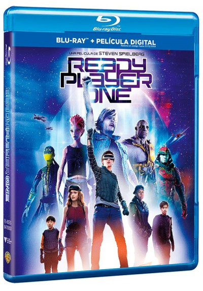 Ready Player One (Blu-Ray + DVD)