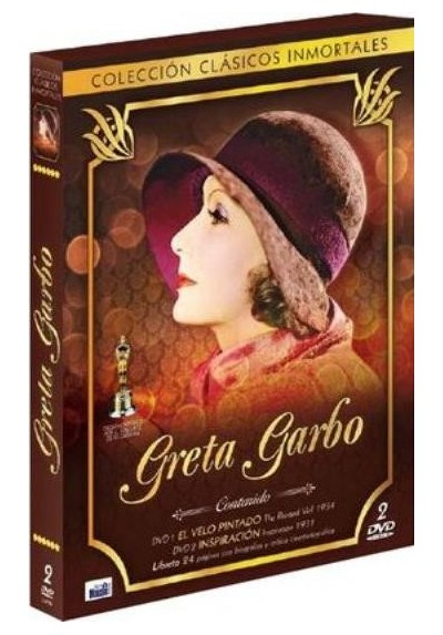 Colección Clásicos Inmortales: Greta Garbo + Libreto 24 Páginas