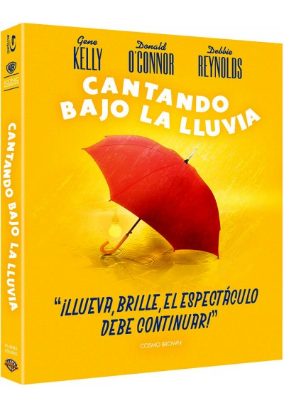 Cantando bajo la lluvia (Blu-ray) (Ed Iconic) (Singin' in the Rain)
