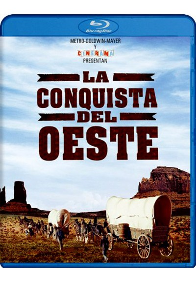 La Conquista Del Oeste (Ed. Especial) (Blu-ray) (How The West Was Won)