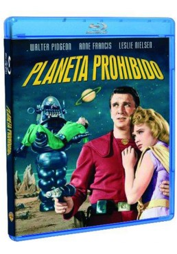 Planeta prohibido (Blu-ray) (Forbidden Planet)