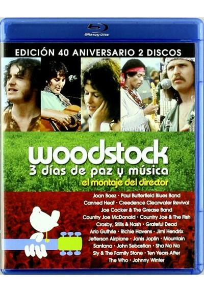 Woodstock, 3 días de amor y paz (Blu-ray) (Ed 40 aniversario)